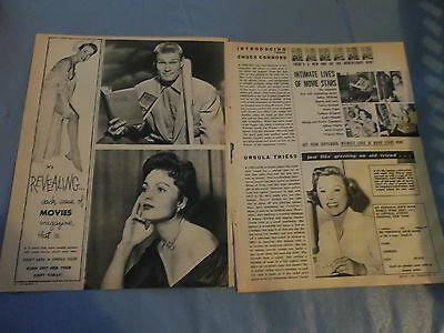 Chuck Connors Ursula Thiess   clipping #109