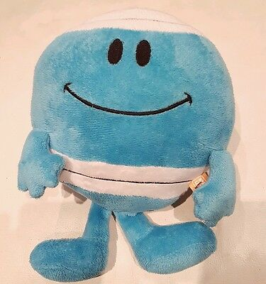 """Mr Men MR BUMP plush soft toy beanie babies roger hargreaves 11"""" approx"""