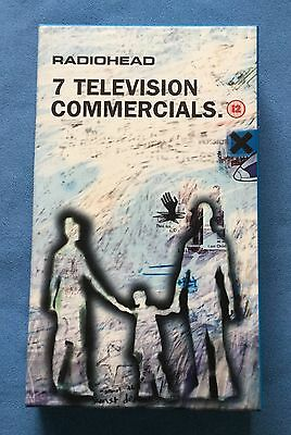 Radiohead '7 Television Commercials' -  Promotional Only Vhs - 1998