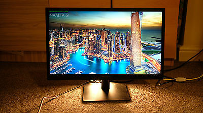 """HannsG 21.5"""" HL225 Black Full HD Monitor 1920 x 1080 Dvi With Cables"""