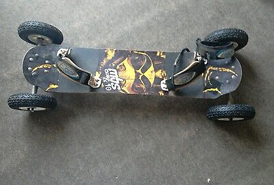 mbs Core 90 mountain board kiteboard. Twister hubs. T2 Tyres POSTAGE AVAILABLE