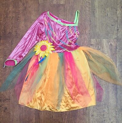 VGC Lycra 'Sunflower' Dance Costume 7-8 Years