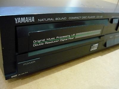 Vintage Yamaha CD-X5 Compact Disc Player - part working