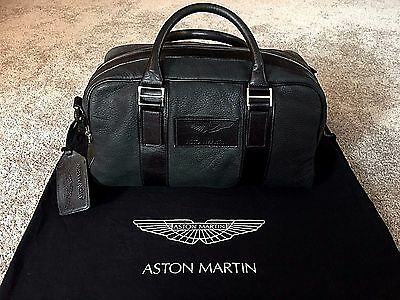 **GENUINE** Aston Martin Weekender Bag Luggage Small - PRISTINE CONDITION