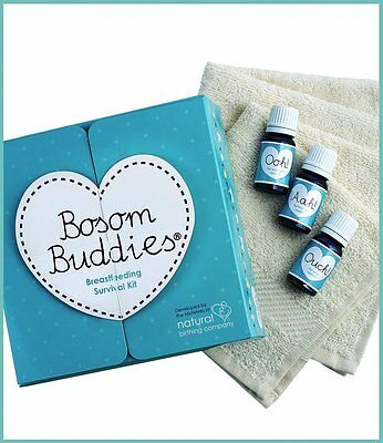 Natural Birthing Company Bosom Buddies Breast Feeding Survival Kit! BNIB!