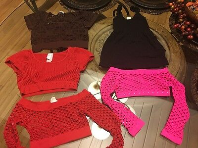 Girls Dance Clothes One Size Fits All Lot Of 5