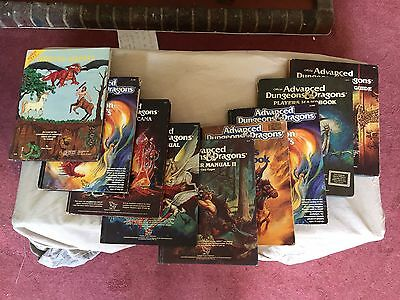 Advanced Dungeons And Dragons Job Lot Of 9 Books