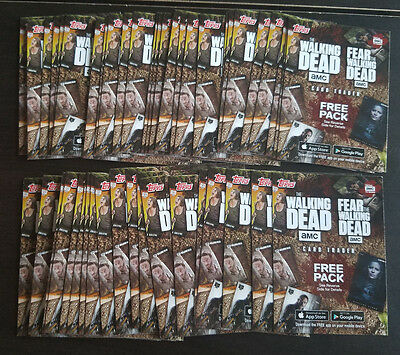2017 Topps The Walking Dead Season 6 - 46x Card Trader Free Pack Cards