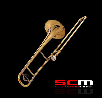BLESSING Bb TROMBONE BLTB1130 STUDENT TROMBONE OUTFIT with CASE & MOUTHPIECE