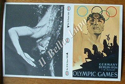 1972 Munich Olympics Esso Petrol Sticker Collection, Berlin 1936, M Rose 1960