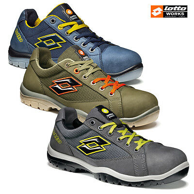 Safety Shoes Lotto Works Jump 500 S1P Src - Q1997 - Q8515 - R7008