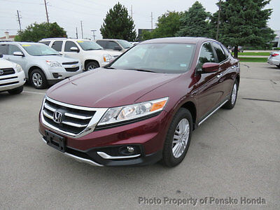 2015 Honda Accord Crosstour 2WD I4 5dr EX-L 2WD I4 5dr EX-L 4 dr SUV Automatic Gasoline 4 Cyl Basque Red Pearl II