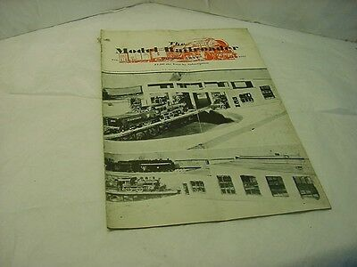 Vintage October 1934 Vol 1 No 10 The Model Railroader Magazine