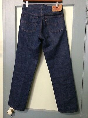 Vtg 1980s Levis 501 Jeans Pants Small E No Redline USA Button Fly Mens 30 X 30
