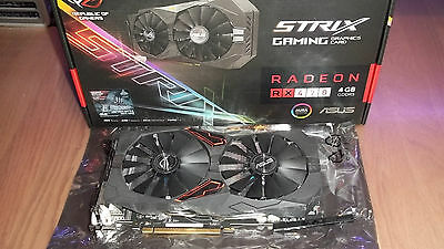 ASUS ROG STRIX RX470 OC 4G (Great for Ethereum mining, never used for mining)