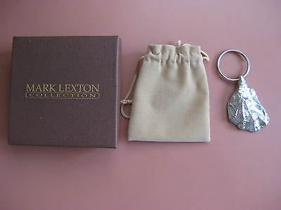Oyster Shell Key Ring by Mark Lexton