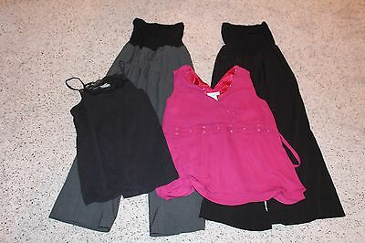 Lot: 5 Lg/xl Maternity Pants/tops/sweater/tank- Liz Lange/old Navy/oh Baby!/anno
