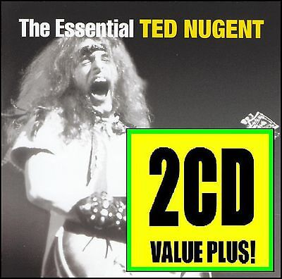 Ted Nugent (2 Cd) The Essential ~ Stranglehold +++ Greatest Hits / Best Of *new*