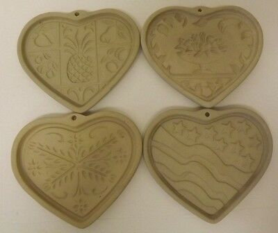 Pampered Chef Come To The Table Hospitality Patriotic Anniversary Mold Lot Of 4