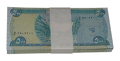 100,000 UNC Iraqi Dinar - (200) x 500 IQD Notes