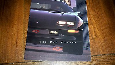 1993 Chevrolet Camaro  Coupe Z28   Brochure