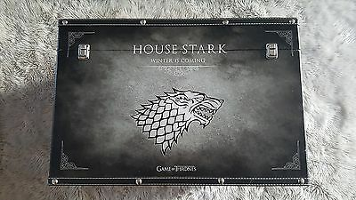 Game Of Thrones House Stark Huge Storage Chest Trunk - New - Winter Is Coming