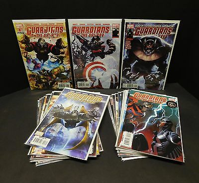 GUARDIANS of the GALAXY 2008 Marvel Comics Complete Set/Lot/Run 1 2 3 4 5 6 7-25