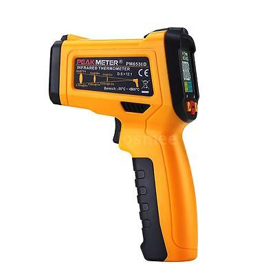 Handheld Digital Infrared Thermometer Temperature Gun K Type Thermocouple P7C6