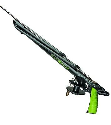 🐟 Salvimar Voodoo Pro Speargun Railgun 75cm with Reel spearfishing Spear Gun 🐟