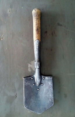 ORIGINAL Russian  IMPERIAL ARMY SOLDIER SAPIER SPADE SHOVEL,  1916 STAMPED