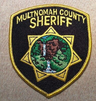 OR Multnomah County Oregon Sheriff Patch