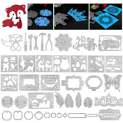 Metal Cutting Dies Stencil DIY Scrapbooking Embossing Album Paper Decorate Craft