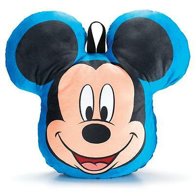 Mickey - Stash and Go - Cuddle Pillow - 14in