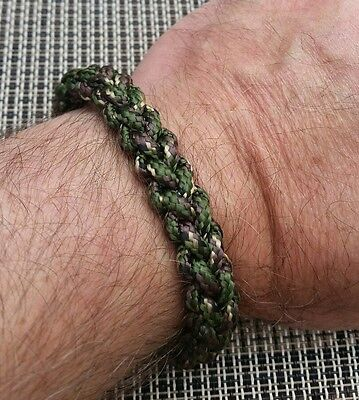 PARACORD BRACELET. Mad Max style. Survival QUICK RELEASE . Wild Camping Army.