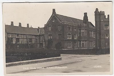 GAINSBOROUGH OLD HALL - #16206 - 1925 used Real Photo postcard