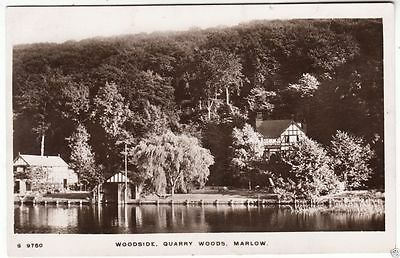 MARLOW - Woodside - Quarry Woods - Kingsway #S9750 - 1914  Real Photo postcard