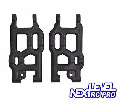 RPM Losi Black Rear A-Arms for Mini 8ight Eight 8 Buggy 73722, replace LOSB1886