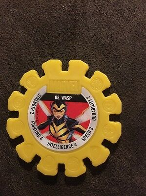 Woolworths Marvel Heroes Disc No.8 Yellow: WASP.