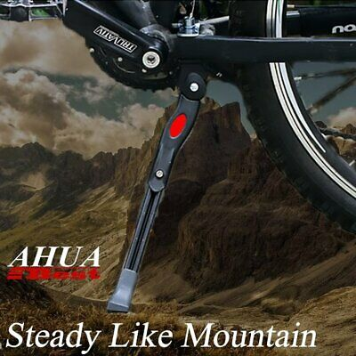Stable MTB Bike Bicycle Ajustable Middle Prop KickStands Leg Brace Side Support