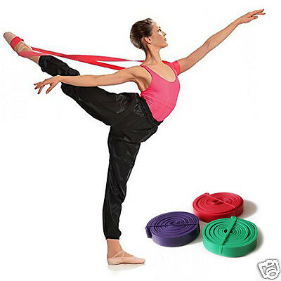 Resistance Pull Up Ballet Band Arm Shoulder Foot Gymnastic Stretch Training Band