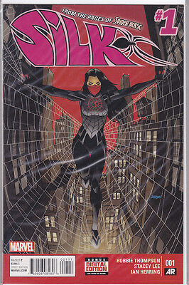 Silk #1 (1st series 2015, Marvel) cover A 1st print. 1st solo book