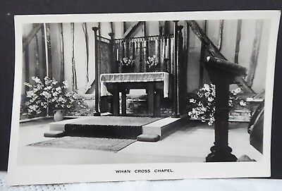 Early real photographic postcard of Whan Cross Chapel Buckinghamshire