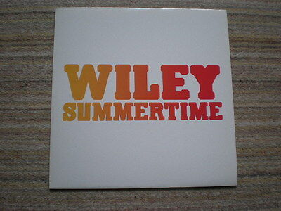 WILEY - Summertime 12 inch single ( a new and unplayed copy)