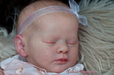 "REBORN DOLL KIT REALBORN ""EVELYN"" by BOUNTIFUL BABY 19"" (UNPAINTED) 2nds"