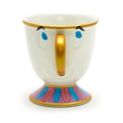 """Authentic Disney Chip Character Mug from """"Beauty and the Beast"""" Stoneware"""