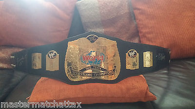 Rare Wwe Scratch Logo Tag Team Championship Belt Signed By Hof Booker T & K Nash