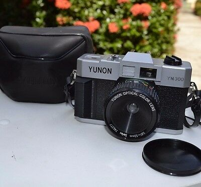 Vintage 35mm YUNON YN 500 Camera with Case NEW