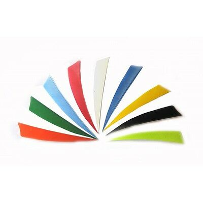 "Gateway Feathers RIGHT WING 5"" Shield - Variety Of Colours  (Qty 12)"