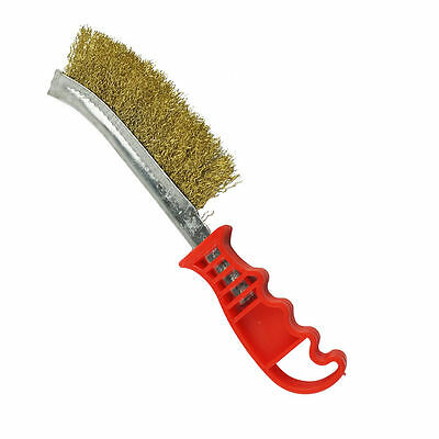 Metal Hand Wire Brush for Removing Rust Metal Cleaning Heavy Duty Handle