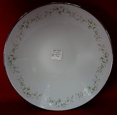 NORITAKE china ANNABELLE 6856 pattern Round Vegetable Serving Bowl - 8-7/8""
